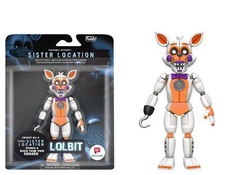 "Five Nights at Freddy's - Lolbit 5"" Articulated Action Figure - Pre-Order"