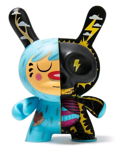 "Dunny - Mr. Watt 5"" Half Ray Dunny Vinyl Figure by Johnny Draco"