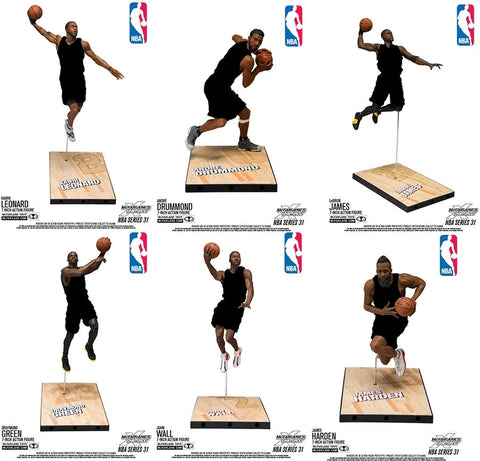 NBA - Series 31: 7 Inch Action Figure Set - Pre-Order