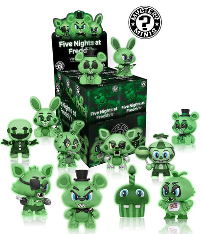 Five Nights at Freddy's - Glow in the Dark Mystery Mini Blind Box Case of 12 Figures