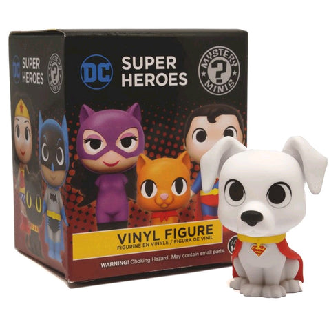 DC: Super Heroes & Pets - Gamestop Exclusive Mystery Mini Blind Box Case of 12 Figures