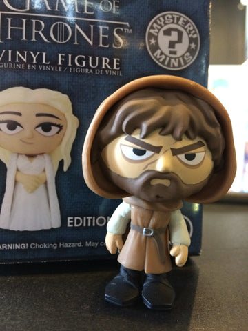 Game Of Thrones - Loose Mystery Mini Figure: (S3) Tyrion Lannister (Hooded) (1:12)