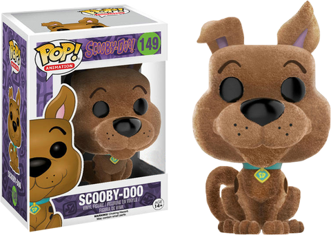 Scooby-Doo - Flocked Scooby Doo Pop! Vinyl Figure