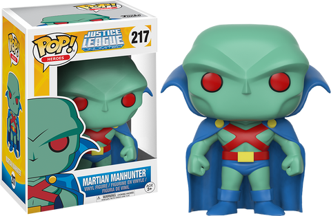 Justice League Unlimited - Martian Manhunter Pop! Vinyl Figure