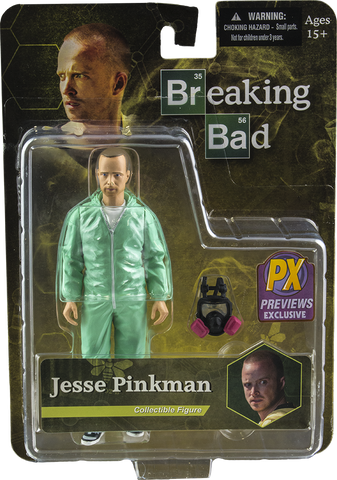 "Breaking Bad - Jesse Pinkman Blue Hazmat Suit Exclusive 6"" Action Figure"