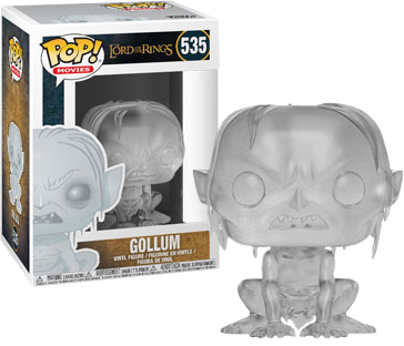 Lord of the Rings - Invisible Gollum Pop! Vinyl Figure - Pre-Order