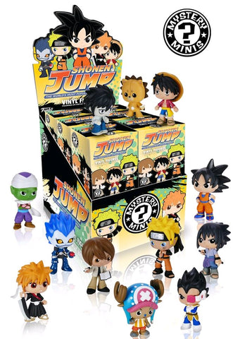 Anime - Best of Anime Series 2: Shonen Jump Mystery Mini Blind Box Case of 12 Figures