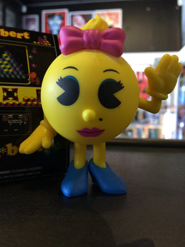 Retro Video Games - Loose Mystery Mini Figure: Ms. Pac-Man (1:12)