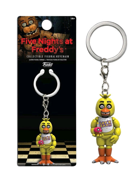Five Nights at Freddy's - Chica Figure Keychain