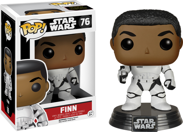 Star Wars - Finn Stormtrooper US Exclusive Pop! Vinyl Figure