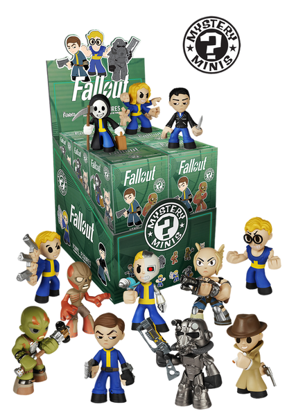 Fallout - Mystery Mini Blind Box Case of 12 Figures