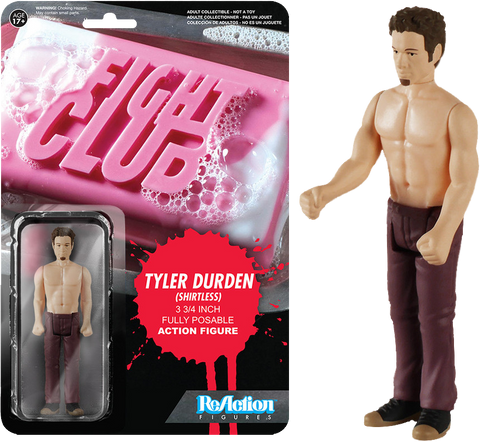Fight Club - Tyler Durden Shirtless Reaction Figure