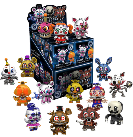 Five Nights at Freddy's: Sister Location - Mystery Minis Case of 12 - Pre-Order