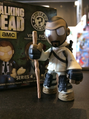 The Walking Dead - Loose Mystery Mini Figure: (S4) Morgan Jones (1:12)