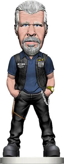 Sons of Anarchy - Clay Bobble Head