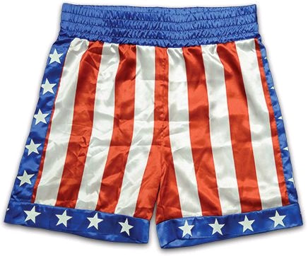 Rocky - Apollo Creed Boxing Trunks - Pre-Order