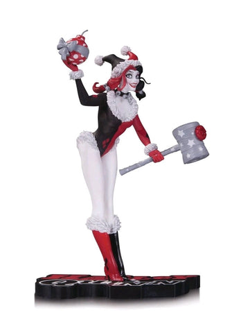 Batman - Harley Quinn Holiday Statue