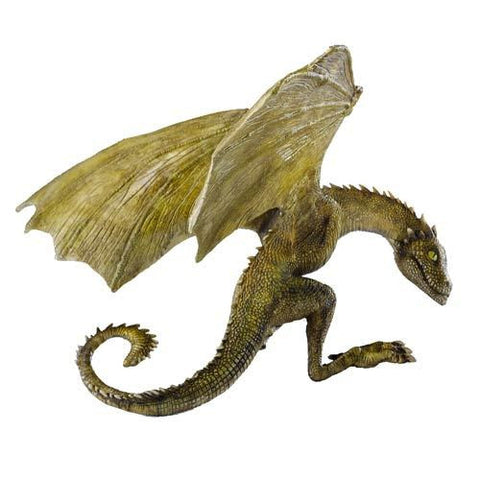 Game of Thrones - Rhaegal Baby Dragon Statue