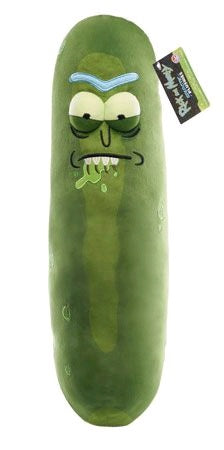 Rick and Morty - Pickle Rick (Biting Lip) 18 Inch Plush - Pre-Order