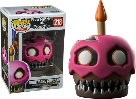 Five Nights at Freddy's - Nightmare Cupcake Pop! Vinyl Figure - Pre-Order
