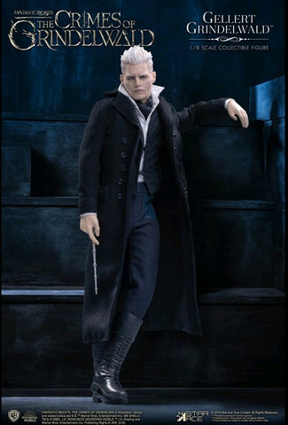 Fantastic Beasts 2: Crimes of Grindelwald - Gellert Grindelwald 1:8 Scale Action Figure - Pre-Order