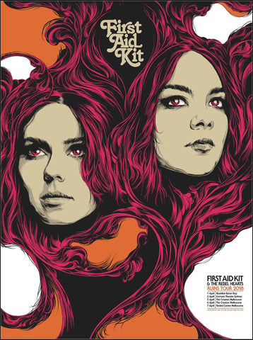 First Aid Kit - Ruins Australian Tour 2018 Limited Edition Print - Pre-Order