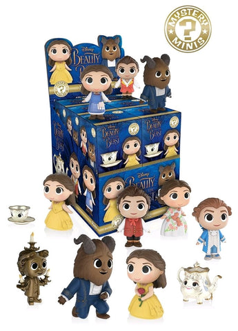 Beauty & the Beast (2017) - Mystery Mini Blind Box Case of 12 Figures