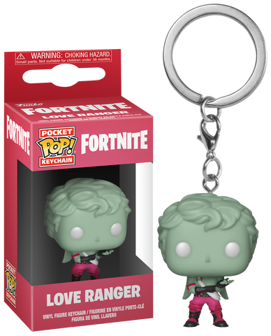 Fortnite - Love Ranger Pocket Pop! Vinyl Keychain - Pre-Order