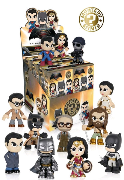 Batman v Superman: Dawn of Justice - Mystery Mini Blind Box Case of 12 Figures
