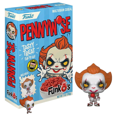 It (2017) - FunkO's Cereal with Pennywise Pocket Pop! Vinyl Figure - Pre-Order