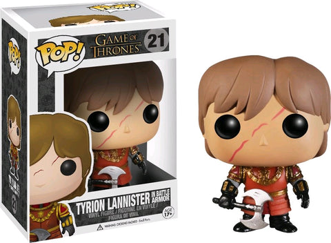 Game of Thrones - Tyrion Lannister in Battle Armor Pop! Vinyl Figure
