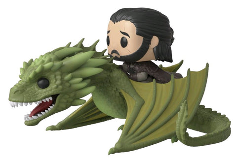 Game of Thrones - Jon Snow on Rhaegal Pop! Ride Vinyl Figure - Pre-Order