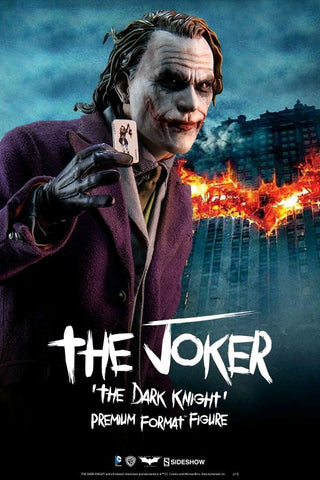 Batman: The Dark Knight - Joker Premium Format 1:4 Scale Statue