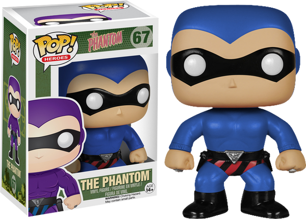 The Phantom: The Ghost Who Walks Blue Version Pop! Vinyl Figure