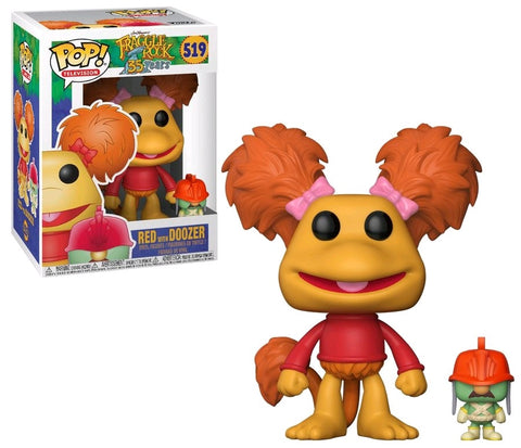 Fraggle Rock - Red with Doozer Pop! Vinyl Figure - Pre-Order