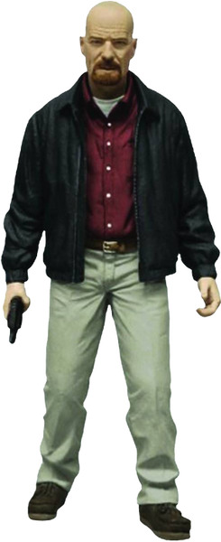 "Breaking Bad - Heisenberg 6"" Red Shirt Exclusive Figure"