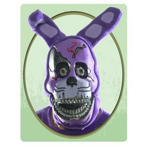 Five Nights at Freddy's - Nightmare Bonnie 3/4 Adult Mask - Pre-Order