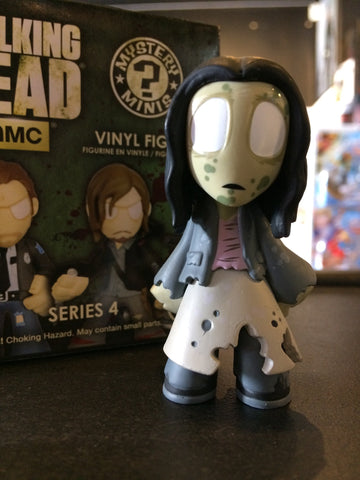 The Walking Dead - Loose Mystery Mini Figure: (S3) Walker Clara (1:12)