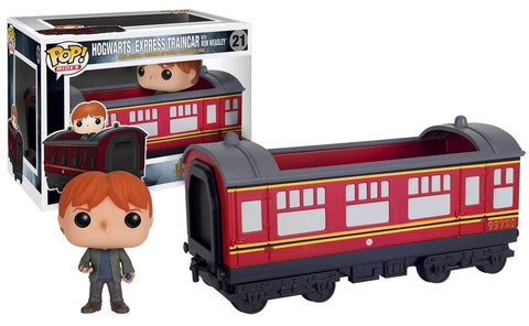 Harry Potter - Ron Weasley with Hogwarts Express Traincar Pop! Ride Vinyl Figure