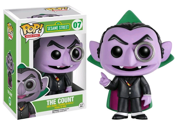 Sesame Street - The Count Pop! Vinyl Figure