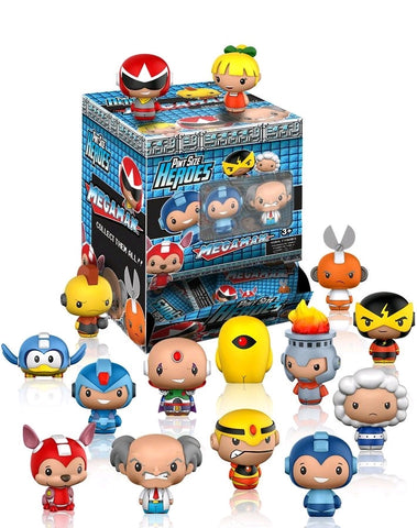 Megaman - Pint Size Heroes Mystery Mini Blind Bags Case of 24 Figures