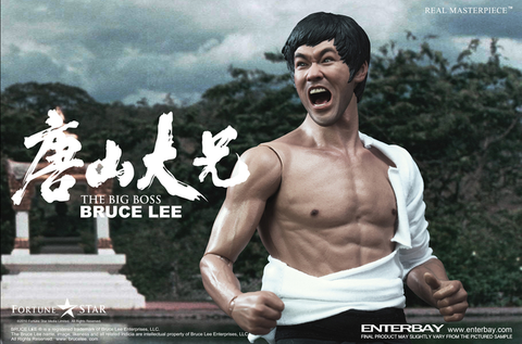 "Bruce Lee - The Big Boss 12"" 1:6 Scale Action Figure"