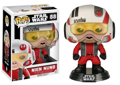 Star Wars - Nien Nunb Episode 7 The Force Awakens US Exclusive Pop! Vinyl Figure