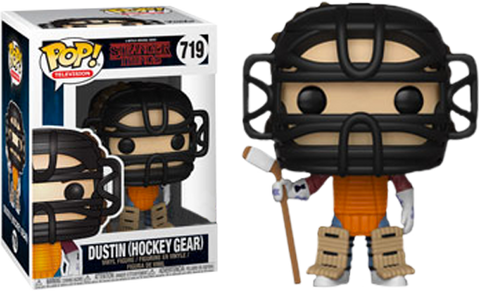 Stranger Things - Dustin in Hockey Gear Pop! Vinyl Figure