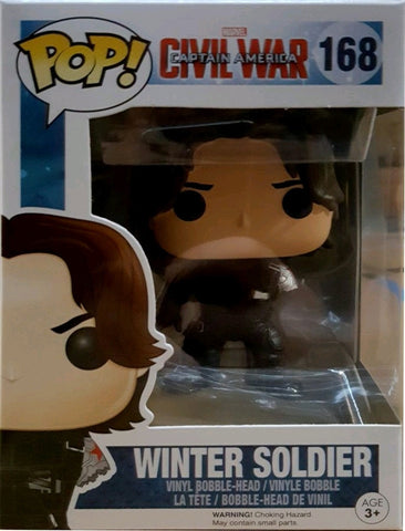 Captain America - Winter Soldier No Arm Pop! Vinyl Figure
