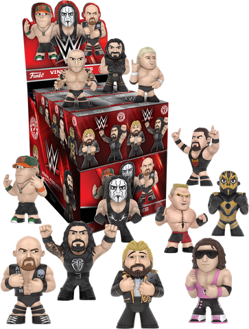 WWE - Series 2 Mystery Mini Vinyl Figures Case of 12 Blind Boxes - Pre-Order