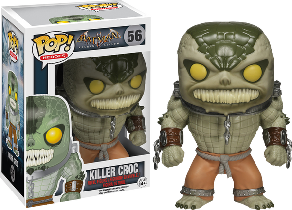 Batman: Arkham Asylum - Killer Croc Pop! Vinyl Figure