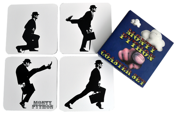 Monty Python - Silly Walk Coaster Set