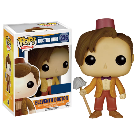 Doctor Who - Eleventh Doctor Fez & Mop Pop! Vinyl Figure