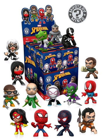 Spider-Man - Classic Mystery Minis: Sealed Case of 12 - Pre-Order